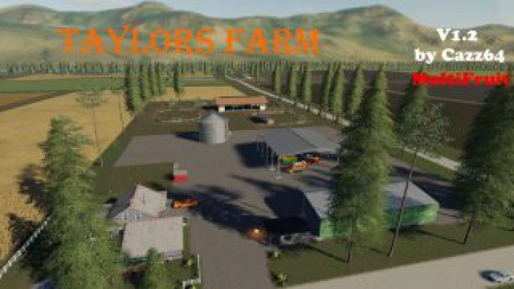 Trending mods today: FS19 TAYLORS FARM with 1.3 patch update v1.2