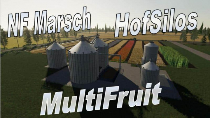 Trending mods today: FS19 Multifruit Silo with Erweiterung v2.0