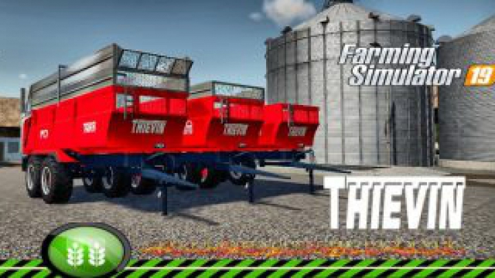 Trending mods today: FS19 THIEVIN 18T CHROM TFSGROUP v1.0