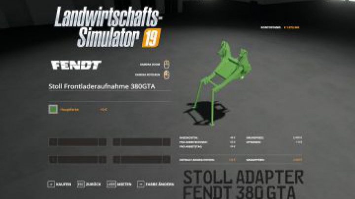Trending mods today: FS19 Stoll FL Adapter for Fendt F 380 GTA v1.0