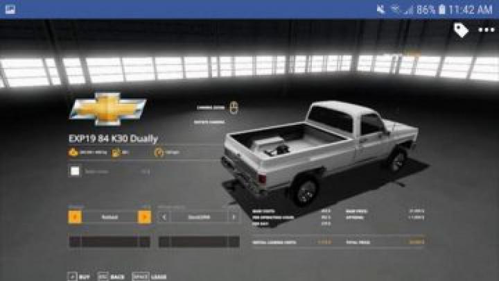 Trending mods today: FS19 1984 Chevrolet k30 v1.0