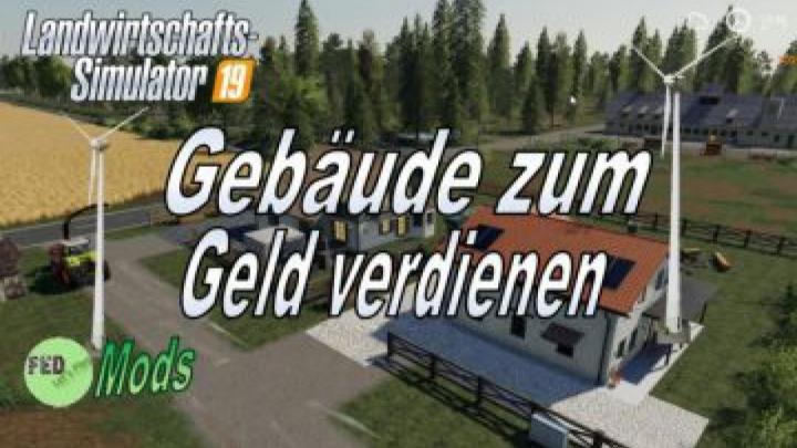 Trending mods today: FS19 Ferienhaus zum Geld verdienen v1.0