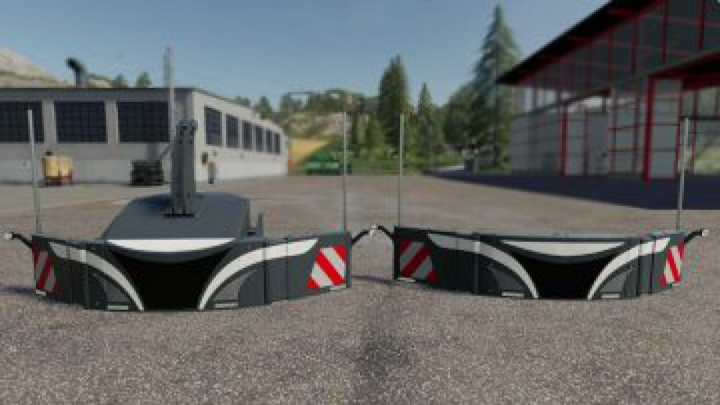 Trending mods today: FS19 Safety Weights Pack v1.0.0.0