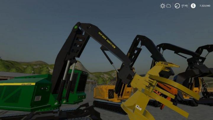 Trending mods today: FS19 Complete FDR Logging Equipment pack V4.0.0