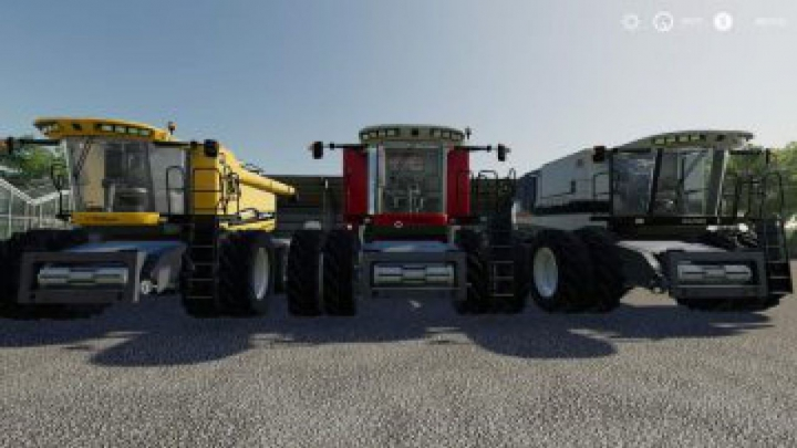 Trending mods today: FS19 AGCO Rotary Combines Pack v1.0