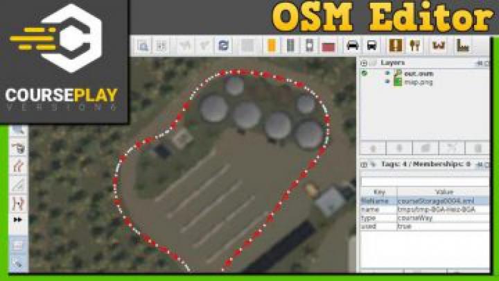 Trending mods today: FS19 Courseplay 6 Editor OSM Converter v1.0