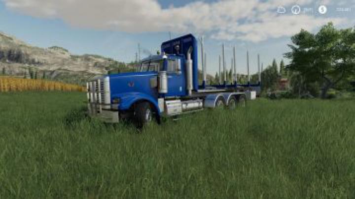 Trending mods today: FS19 Hulk Log truck v1.0.0.0
