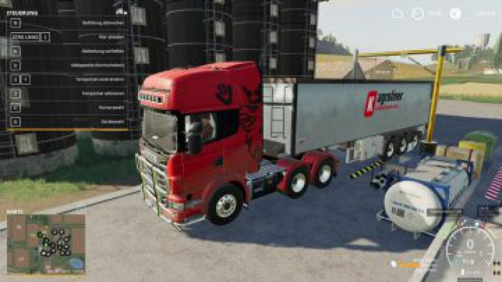 Trending mods today: FS19 Scania R730 Semi 3 achser