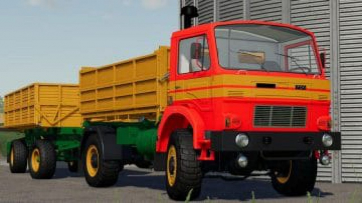 Trending mods today: FS19 D-754 Truck Pack v1.0.0.0