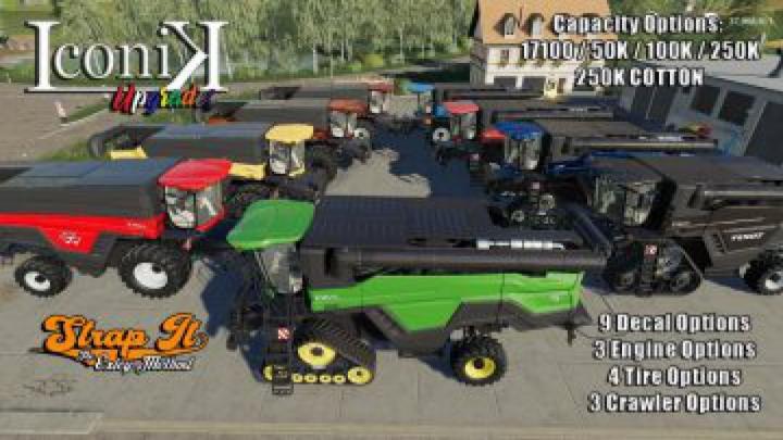 Trending mods today: FS19 Iconik Ideal Harvester v1.0
