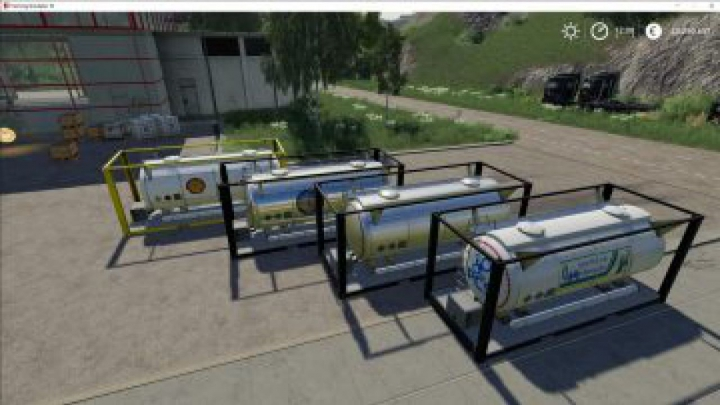 Trending mods today: FS19 ATC Container Pack v3.0.0.0
