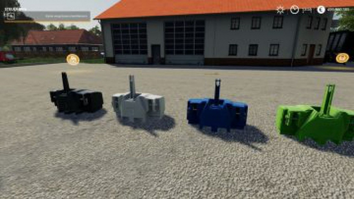 Trending mods today: FS19 XXL weights pack V 1.1.0.0