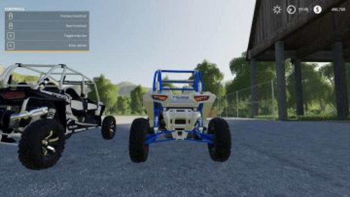 cars FS19 RZR 2 door Full Suspension v1.0