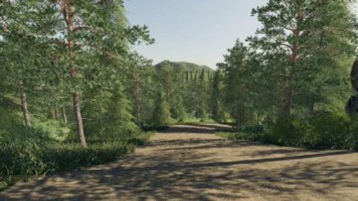 maps FS19 Thuringia forest v2.2.0.0
