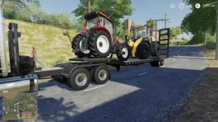 trailers FS19 LW-60 Lowbed Trailer v1.0.0.0