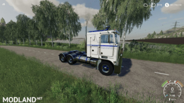 Trending mods today: FS19 Kenworth W900a