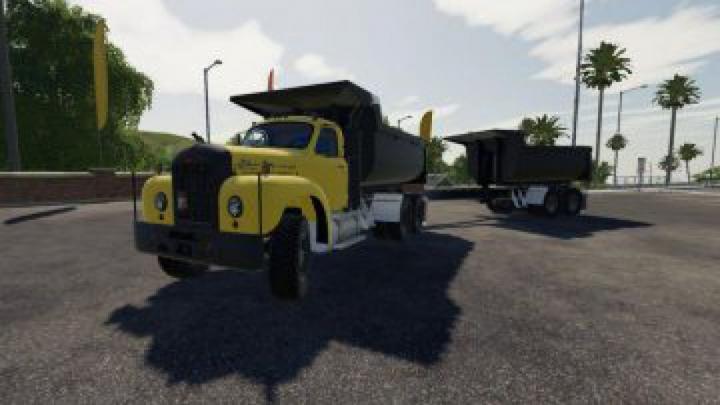 Trending mods today: FS19 Mack B61 Dump and Trailer v1.0.0.5