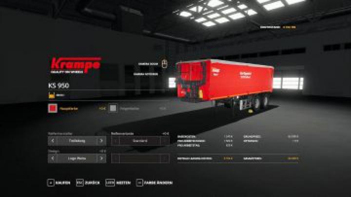 trailers FS19 Siga Duo Dolly + Krampe KS950 v1.0.0.0