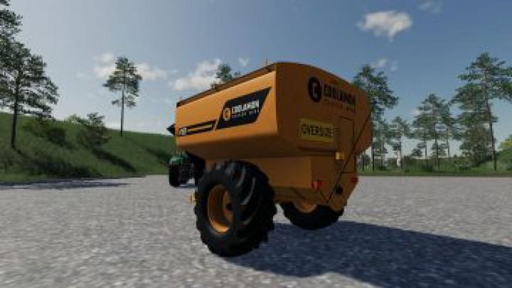 trailers FS19 Coolamon Chaser Bins 18T v3.0.0.0