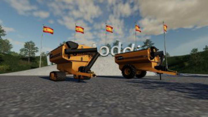 Trending mods today: FS19 Coolamon Chaser Bins 24T v2.0.0.0