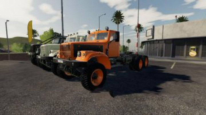 "trucks FS19 KrAZ-255B ""New Life"" v2.3.0.0"