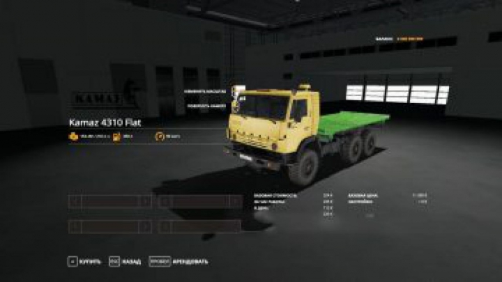 Trending mods today: FS19 KAMAZ-4310 Flat v1.1