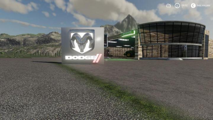 Trending mods today: FS19 Placeable Dodge Sign v1.0
