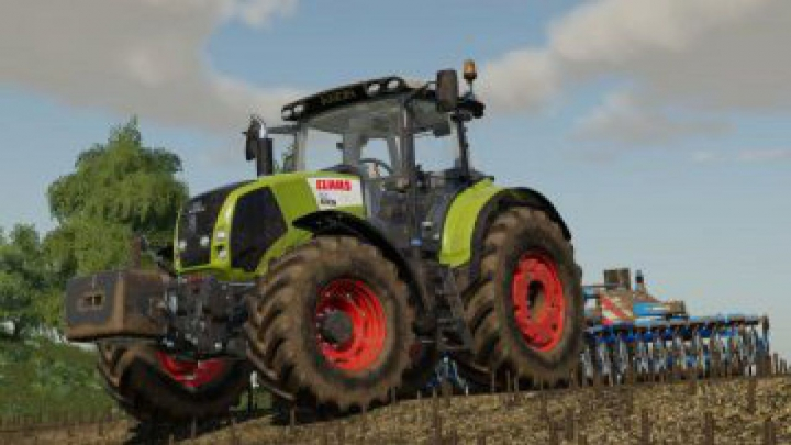Trending mods today: FS19 Claas Axion 800 + Weight 900kg v1.0.0.0