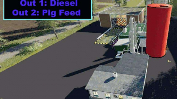 Trending mods today: FS19 Diesel Production v1.0