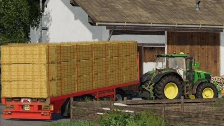 Trending mods today: FS19 SDC Flatbed Trailer with Autoloads v2.0