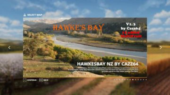 Trending mods today: FS19 Hawke's Bay NZ map v1.3