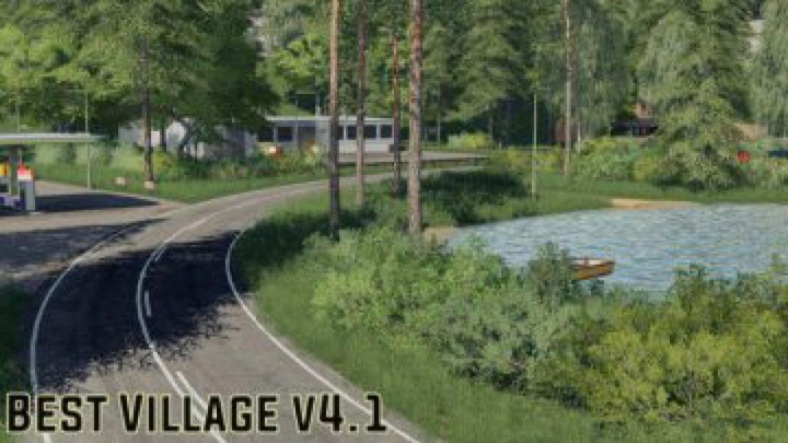 Trending mods today: FS19 Best Village v4.1 Final