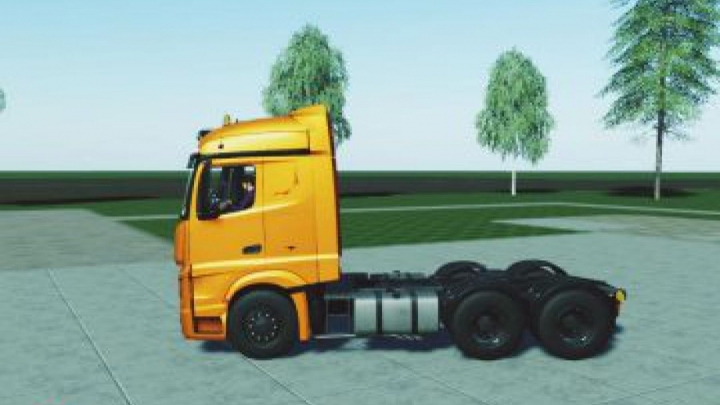 Trending mods today: FS19 Mercedes Actros MP4 v1.0