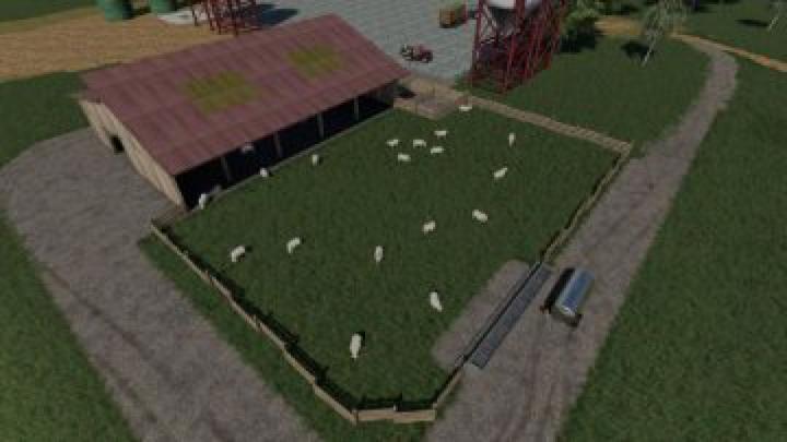 objects FS19 FS09 Sheep Husbandry v1.0.0.0