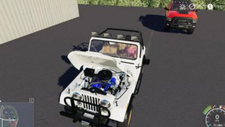 cars FS19 Daisy's Jeep v1.0.0.0