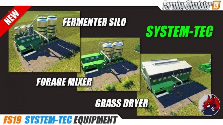 Trending mods today: FS19 System-Tec Cow Mixer Station (English Version) v1.0