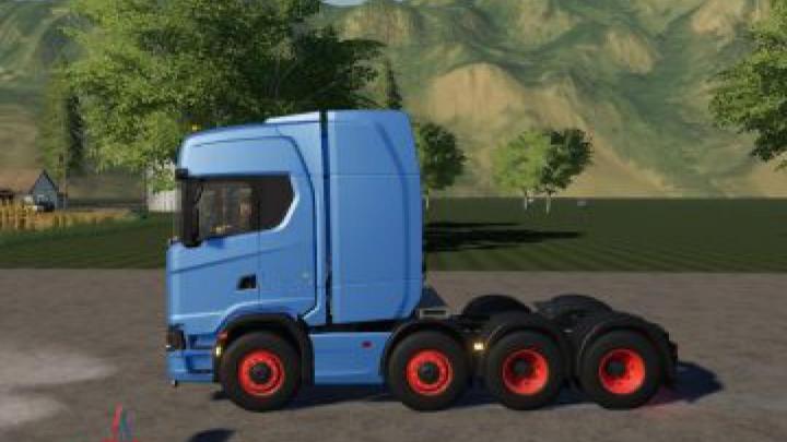 Trending mods today: FS19 Scania R730 8×4 v1.0