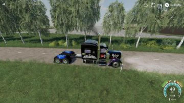 trucks FS19 Peterbilt 379 WWE v1.0