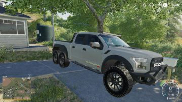 Trending mods today: FS19 Ford Velociraptor 6×6 Remake v1.0