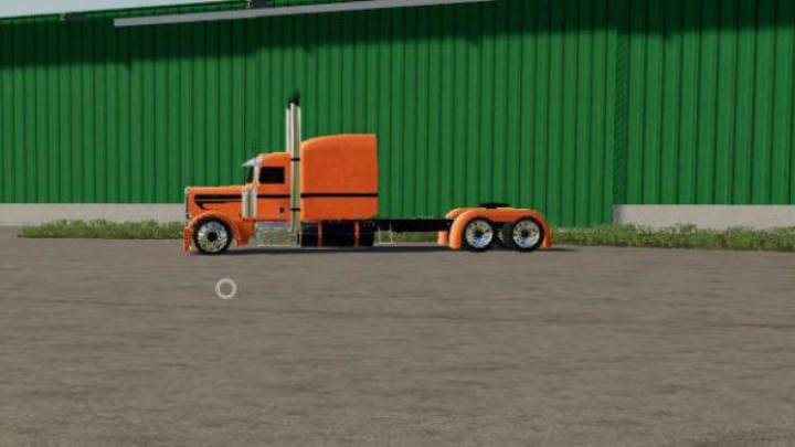 Trending mods today: FS19 Custom Peterbuilt StreetReaper v1.0