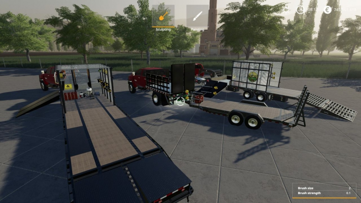Trending mods today: pj lawn care trailer pack