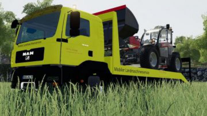 trucks FS19 MAN TGA 28.430 van v1.0.0.0