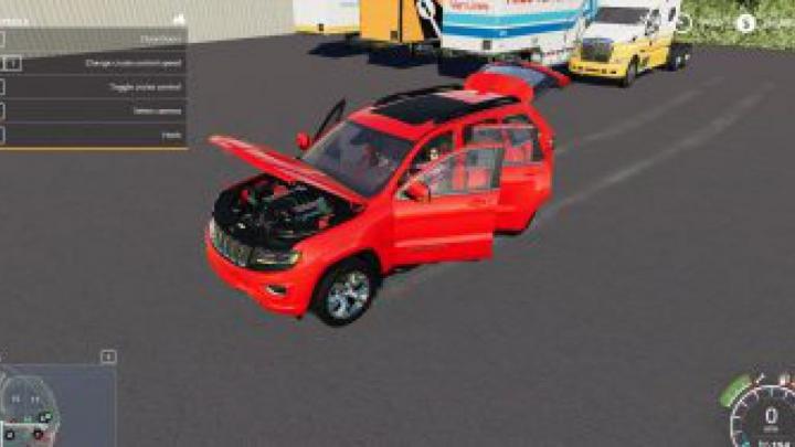 FS19 Jeep Cherokee v1.0.0.0 category: cars