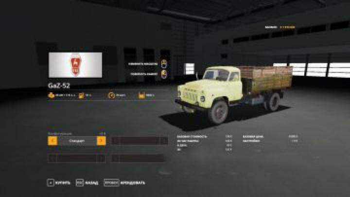 Trending mods today: FS19 GAZ-52 truck v1.0.0.0