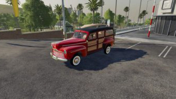 FS19 Ford Woody v1.0.0.0 category: cars