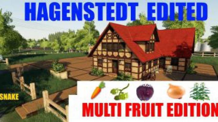 Trending mods today: FS19 Hagenstedt Edited MultiFruit v1.0