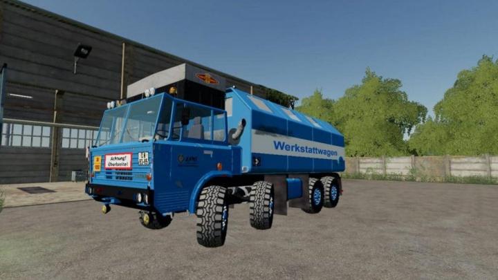 Trending mods today: FS19 Tatra 8×8 Service v1.0