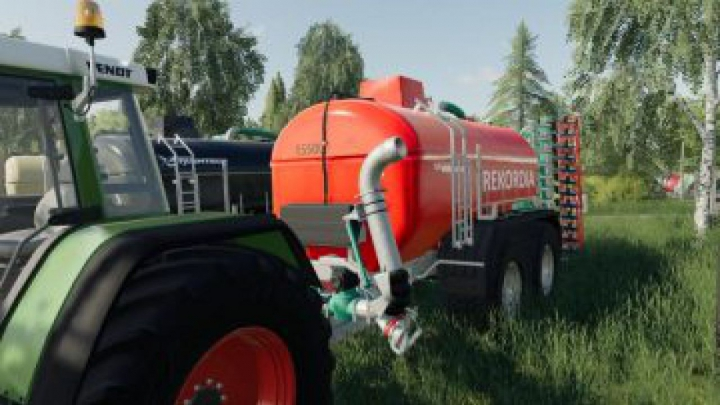 Trending mods today: FS19 Zunhammer 15500 with other brands v2.0