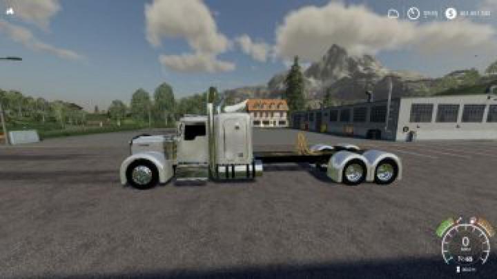 trucks FS19 Kenworth WL900 Grill Beta