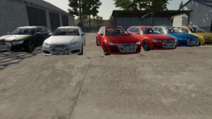 cars FS19 Audi S4 2017 v2.0